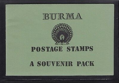 Burma Stamp. Postage Stamps A Souvenir Pack Of 10 Pages 35 Stamps Mostly Used