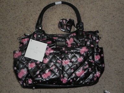 20e6164a6f6 LAURA ASHLEY QUILTED 5 in 1 Diaper Bag Set- Baby bag -  36.50   PicClick
