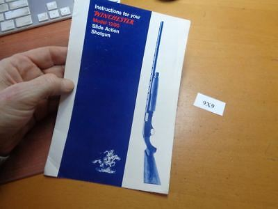 Winchester manuals winchester 1300, 1200 shotguns disassembly.