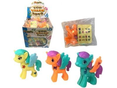 JOB LOT of 72 x UNICORN KIT with STICKERS Party Bag Toy WHOLESALE BULK BUY