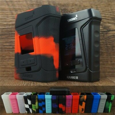 Silicone Case for Smoant Ranker 218W & ModShield Tank Band Protective Cover