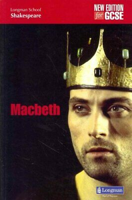 Macbeth (new edition) by W. Shakespeare 9781408236864 (Paperback, 2010)