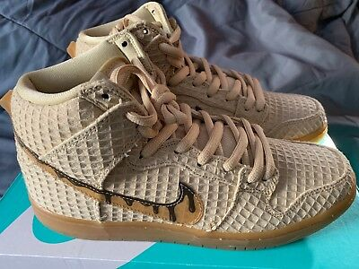 0a88258a9c94 NIKE SB DUNK High Premium  Chicken and Waffles  313171-722 SZ 10.5 ...