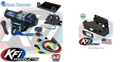 KFI Products Winch Mounts for Warn ProV 4-4500 V and 4-4500 101055