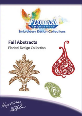Floriani  CD  Embroidery Fall Design New