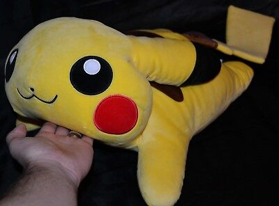 "24"" Huge Pikachu Jumbo Pokemon Center Plush Dolls Toys Pillows Big Large Massive"