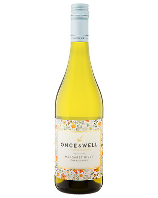 Once & Well Chardonnay White Wine Margaret River 750mL case of 6
