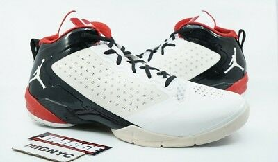100% authentic 14d48 49b47 Air Jordan Fly 2011 Dwayne Wade Used Size 15 White Black Varsity Red 479976  101