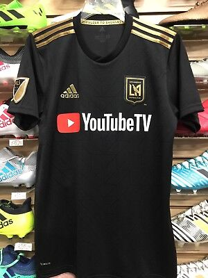 dd5895af9 Adidas LAFC HOME JERSEY BLACK AND GOLD FITO ZELAYA  22 Size Small Only