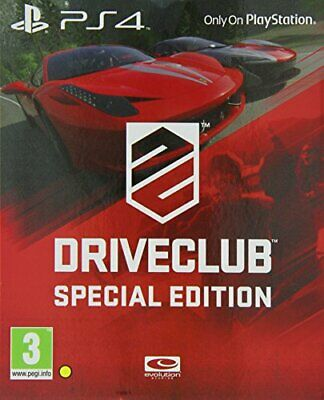 DriveClub: Special Edition (PS4) - Game  26VG The Cheap Fast Free Post