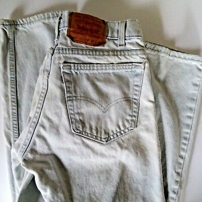 92ee2f37b9 VINTAGE USA MADE stone washed 505 reg fit 32 x 32 Levis jeans ...