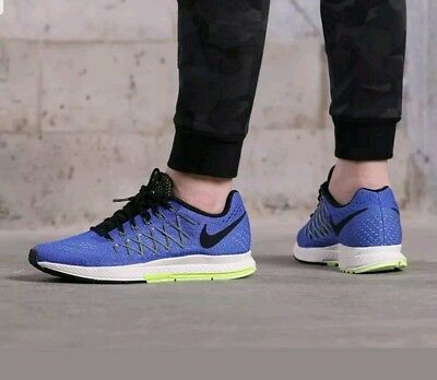 release date: f9a15 6898d Nike Air Zoom Pegasus 32 Mens Running Trainer Shoe Blue Size 7.5