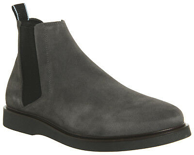 Mens Shoe The Bear Sorvad Chelsea Boots Grey Suede Boots