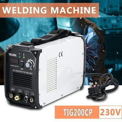 CATUO TIG200CP MMA200 Argon Arc Welding Machine 2 In 1 Electric Welder 230V