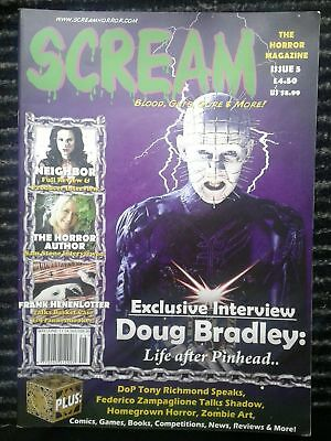 Scream Magazine issue 5 - Rare - out of print