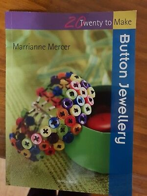 Button Jewellery by Marrianne Mercer (Paperback, 2011)