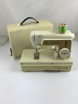Vintage 1960's Singer Little Touch & Sew Childrens Sewing Machine Model #67A23