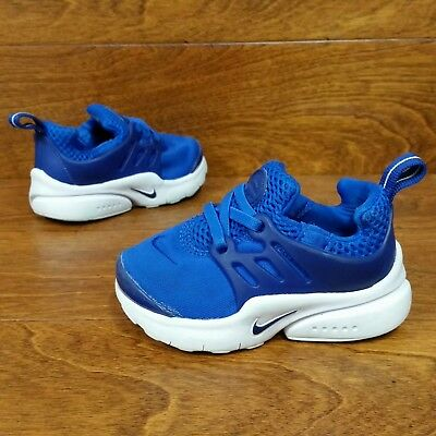 fbd67b41adc4aa Nike Little Presto (Toddler Boy s Size 6C) Athletic Sneaker Shoes Blue White