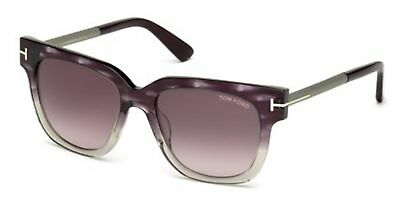 029c6d3b32af TOM FORD TF 436 FT0436 Tracy shiny blk gradient smoke 01B Sunglasses ...