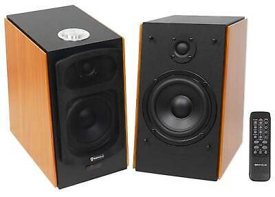 "(2) Rockville HD5 5"" Powered Studio Monitor Bluetooth Bookshelf Speakers"