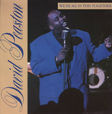 """David Peaston - We're All In This Together, 12"""", (Vinyl)"""