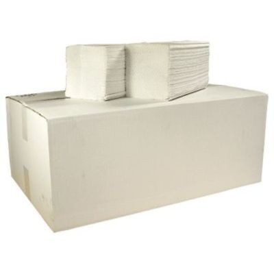 Z Fold 2 Ply Pure Paper Hand Towels (White)