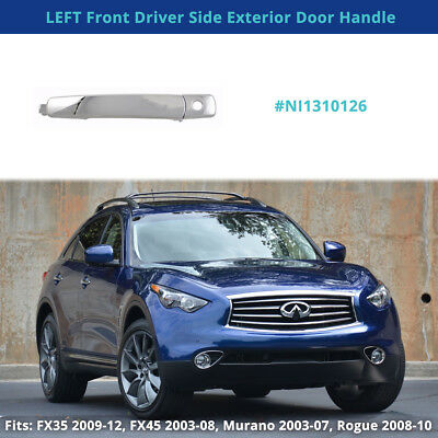 AM Front,Left Driver Side DOOR OUTER HANDLE For Nissan,Infiniti I35,Maxima