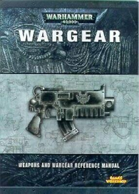 Wargear (Warhammer 40, 000 S.) Paperback Book The Cheap Fast Free Post