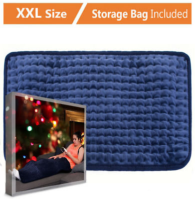 """XXX-Large Heating Pad Gift Set Auto Off for Back Pain, Temperature Settings, 35"""""""