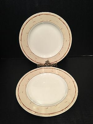 1 AMWAY WEDGWOOD HOME DINNER PLATE use w//Pears /& Berries and Ribbon /& Medallion