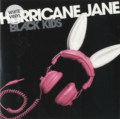 "Black Kids - Hurricane Jane, 7"", Single, Whi, (Vinyl)"