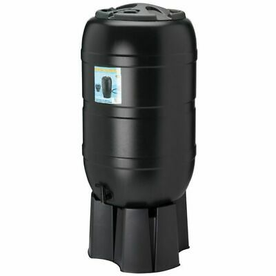 Ward Green Plastic Water Butt Kit inc Stand, Tap & Fittings - 210 Litre GN335