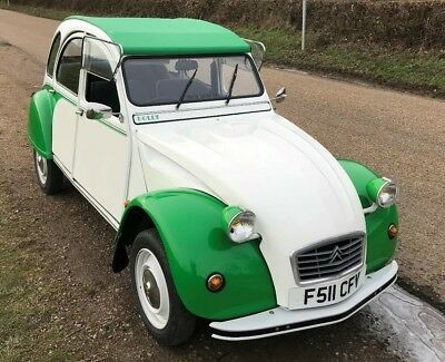 Citroen 2cv Very low genuine mileage at 36.5k Galvanised chassis