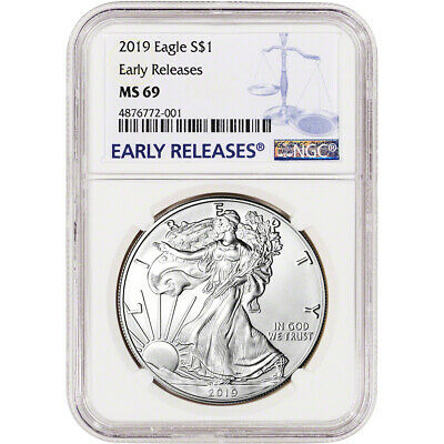 2019 American Silver Eagle - NGC MS69 - Early Releases