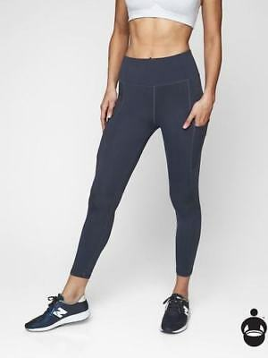 ddceaace88278 ATHLETA COLORBLOCK UP For Anything 7/8 Tight, Silver Bells, Size S ...