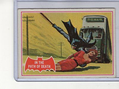 1966 Topps Batman (Red Bat) #38A EX- Puzzle Back