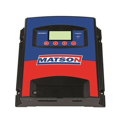 Matson 30AMP DC to DC Charger Up to 500 watt Solar Input Up to 400 A/h Battery