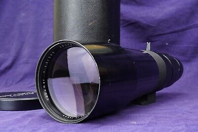 Pentax Takumar 500mm f4.5 Vintage Telephoto SLR Lens with CASE & CAPS FULLY TEST