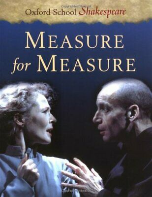 Measure for Measure: Oxford School Shakespe... by Shakespeare, William Paperback