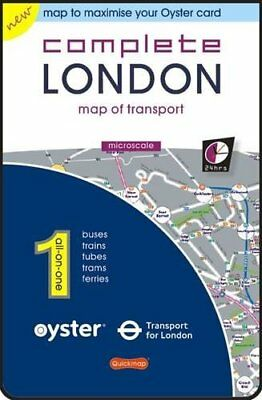 Complete London: Map of Transport (All-on-One (... by Quickmap Sheet map, folded