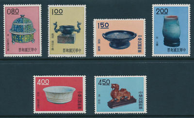 R.O.C. Scott #1296-1301 (6) Fine to Very Fine (MNH) Complete Set SCV:$81.75