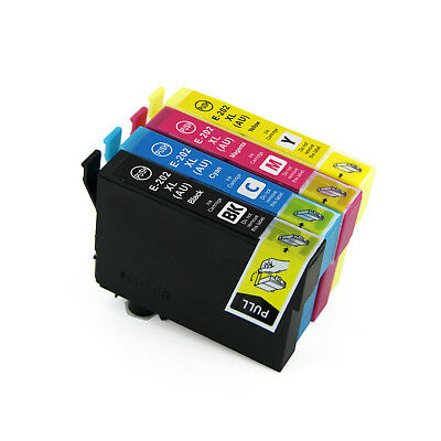 4 x compatible ink 202xl 202  T202xl E-202xl for Epson xp5100 WF2860