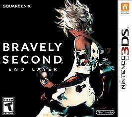 Bravely Second: End Layer (Nintendo 3DS, 2016) COMPLETE & SMOKE FREE