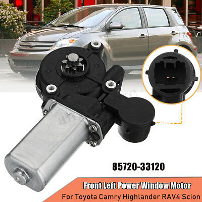 Front Left Power Window Motor For Toyota Camry Highlander RAV4 Scion 85720-33120
