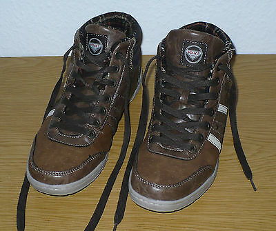 b9d0369cebce55 K-Swiss Norfolk SC Schuhe Herren Boots High Top Sneaker chocolate Größe  42