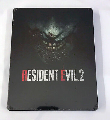 Resident Evil 2 HD REMAKE STEELBOOK Xbox One PS4 NEW & SEALED [NO GAME] in STOCK