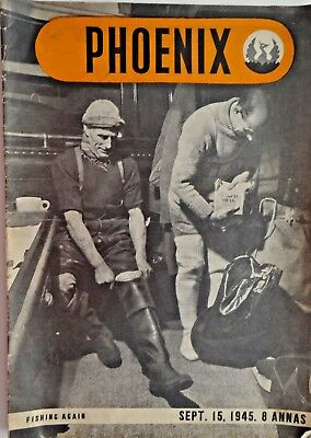 Phoenix Magazine  September 1945 Allied forces South East Asia command WW2