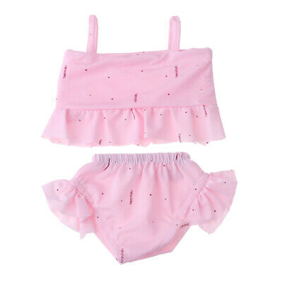 18inch Dolls Clothes Bikini Tops Skirt for American Doll Our Generation Doll