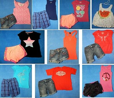15 piece lot of nice clean girls Spring Summer clothing size 7 Everyday 3s9