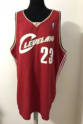 Mitchell   Ness LeBron James 23 Authentic NBA Jersey Cleveland Cavaliers 5XL 52a948063